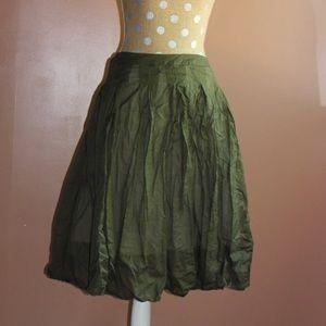 Forest green talbolts full skirt