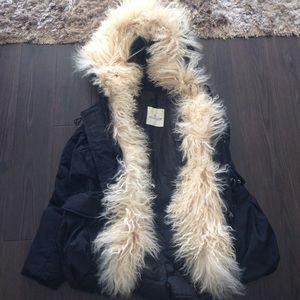 Moncler Jackets & Blazers - Moncler Mongolian lamb fur coat 1