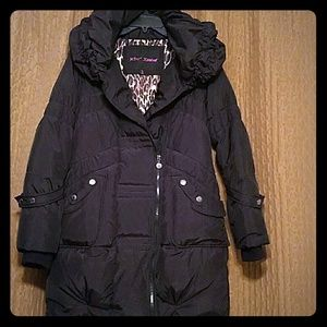 Betsey Johnson Jackets & Blazers - Betsey Johnson Down and Feather Filled Puffer Coat