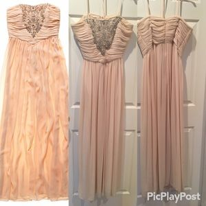 Marchesa Dresses & Skirts - Pearl of Marchesa Light Pink Prom Dress