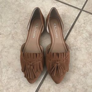 Brown Chinese Laundry Flats