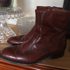 Bostonian Other - Bostonian men's size 9 boots with side zipper