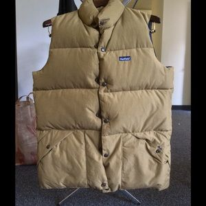 Penfield outback vest Tan color