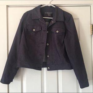 Saks Fifth Avenue Jackets & Blazers - 5/48 Saks 5th Ave size 10 denim stretch jacket