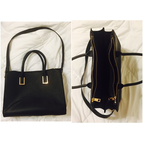 H M Bags   Hm Black Work Bag   Poshmark cca3fc303c