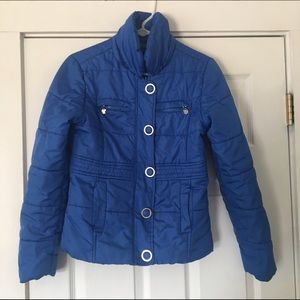 Dollhouse Jackets & Blazers - Dollhouse blue puffer jacket size small