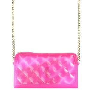 Shop Jeen Handbags - Quilted Glitter Jelly Purse