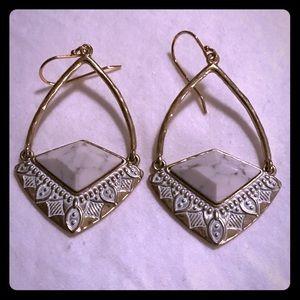 Silpada Jewelry - Silpada K&R Brass Earrings