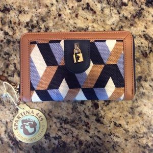 Spartina 449 Handbags - Spartina 449 Brand New Zip Wallet With Tags
