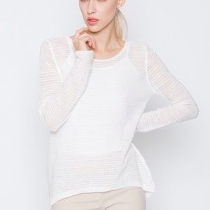Miilla Clothing Sweaters - 🆕 Sheer Ribbed Light Knit Sweater