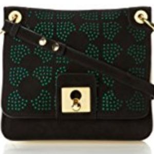 Orla Kiely Handbags - New Orla Kiely Punched square flower Leather Bag