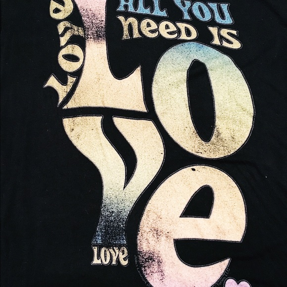 torrid Tops - All You Need is Love Graphic Tee