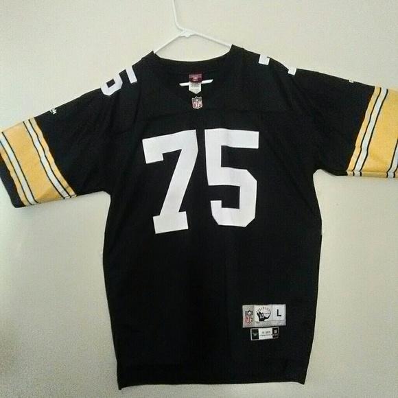 f4d629e96 Throwback-  MEAN  JOE GREENE - Steelers Jersey. M 58947fc1522b45e85003688a
