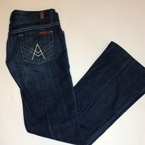 7 For All Mankind Denim - NWOT 7 for All Mankind A Pocket Boot Cut Jeans