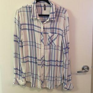 Evereve Tops - Allison Joy flannel size large