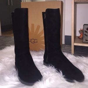 UGG Shoes   Tall Black Abree Ii Boots