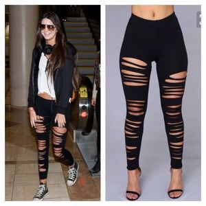 Fashionomics Pants - RESTOCKED 5⭐️Rated 💋Best ripped leggings💋