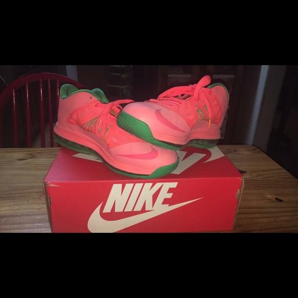 Nike Shoes | Pink Green Lebron James