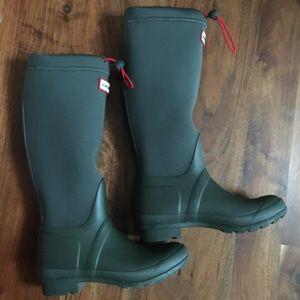 Hunter Boots Shoes - ✨HP✨Hunter Original Tour Neoprene Size 6 Olive