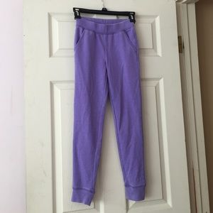 Splendid Faded Purple Sweatpants