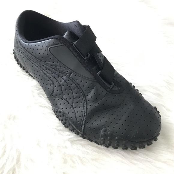 puma leather shoe