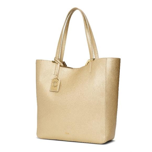 60d87bc30a Ralph Lauren Gold Tote Bag. M 58963b1dfbf6f92dcb016449
