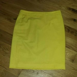 CAbi Dresses & Skirts - CaBi yellow pencil skirt.