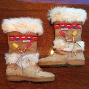 Tecnica Shoes - Tecnica tan fur boots size 38 US 7