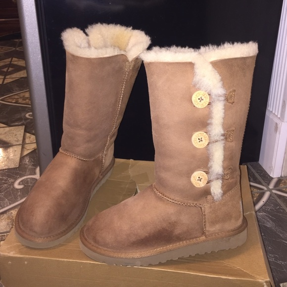 dff92369f19 K Bailey Button Triplet UGG Boots