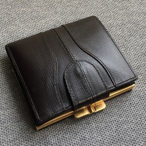 Valextra Handbags - Valextra dark brown wallet in good condition