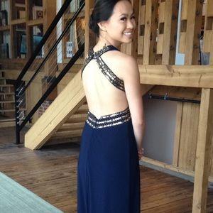 Blondie Nites Dresses & Skirts - SALE⭐️Navy Blue Prom Dress