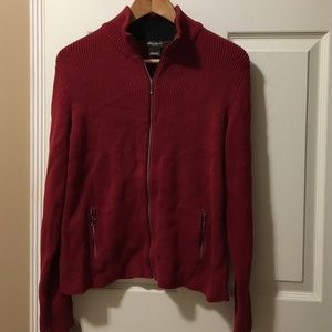 Eddie Bauer Full Zip sweater