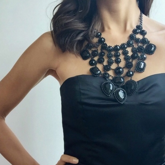 Zara Jewelry - Black Statement Necklace