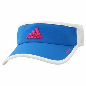 NWOT Pink and Blue Adidas Visor