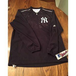 Majestic Other - ⚾️Majestic Yankees MLB Training Windbreaker