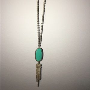 Kendra Scott Rayne Necklace in Teal