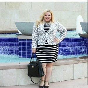 Jackets & Blazers - isabel toledo for lane bryant peplum jacket