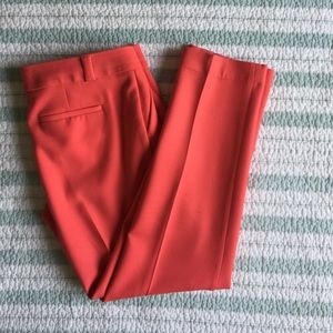 LOFT Pants - Loft size 6 short coral dress pants
