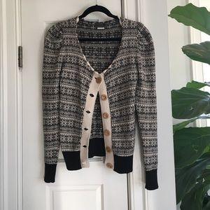 numph Sweaters - Nümph snowflake print cardigan