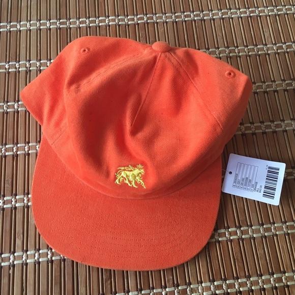 5f57246d3b6 NWT Stussy Lion Strapback Hat