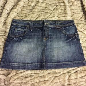 Jean mini skirt - BOGO half off!