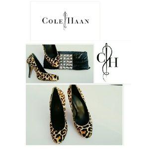 Cole Haan Shoes - LIMITED COLE HANN LEOPARD NIKE AIR PUMPS SZ 9