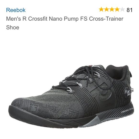 2cde7fbbb069 Men s R Crossfit Nano Pump FS Cross-Trainer Shoe. M 5883e56da88e7de32f01ebba