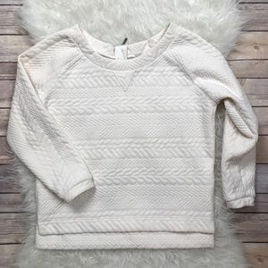 Prana Tops - Prana Dimension Crop Top Sweatshirt