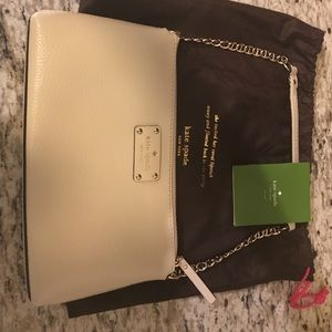 Kate Spade Wellesley Byrd shoulder clutch