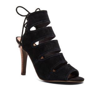 Seychelles Shoes - ➡Seychelles Black Play Along Suede Heels⬅