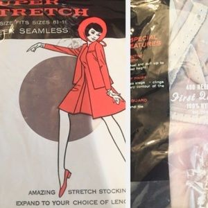 🎈sale🎈1960s NOS Pantyhose & stockings in one!