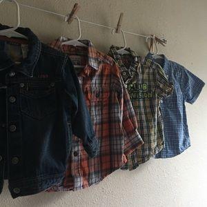 Children's Place Other - 4 pcs baby boy clothes size 24/2T