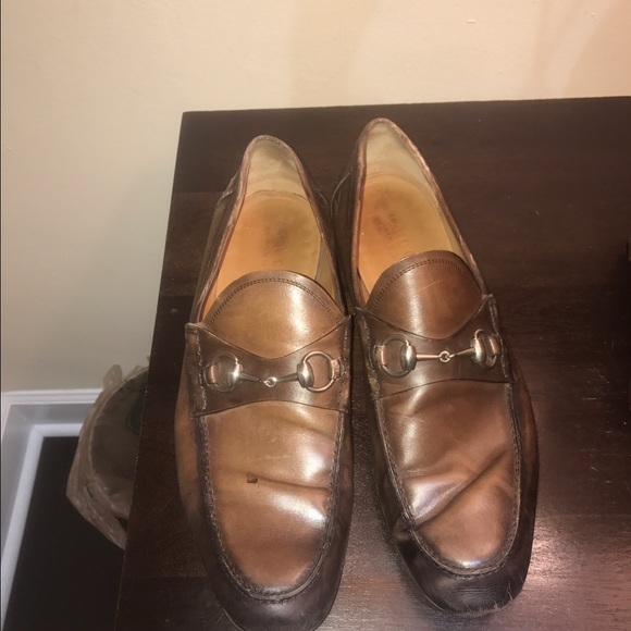 fe72bedbaa9fc Gucci Other - Men s Gucci Horsebit Tan Leather Loafer used ...