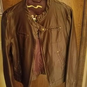 Big Chill Jackets & Blazers - Big Chill Vintage Leather Jacket